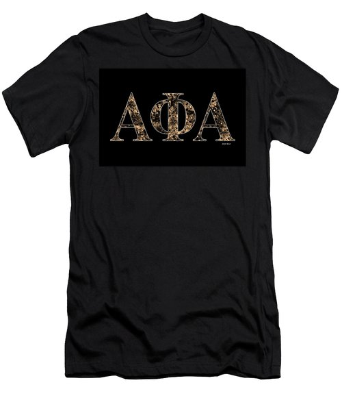 Alpha Phi Alpha - Black Men's T-Shirt (Athletic Fit)