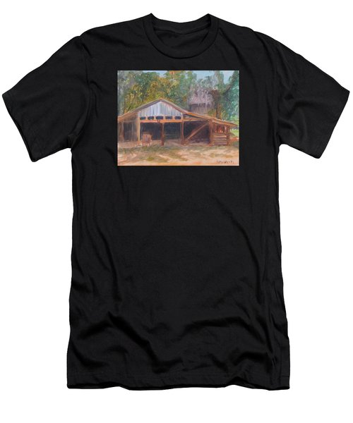 Alpine Groves Fruit Packing Shed Men's T-Shirt (Athletic Fit)