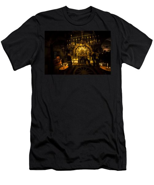 Altar Of The Crucifixion Men's T-Shirt (Athletic Fit)