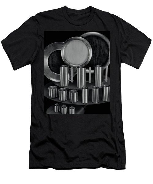 Aluminum Tableware Men's T-Shirt (Athletic Fit)