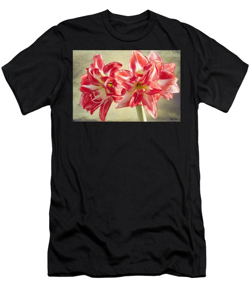 Amaryllis Red Men's T-Shirt (Athletic Fit)