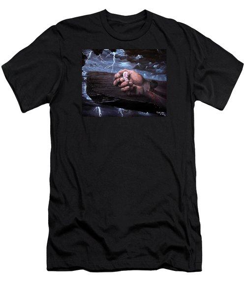 Amazing Grace Men's T-Shirt (Slim Fit) by Bill Stephens