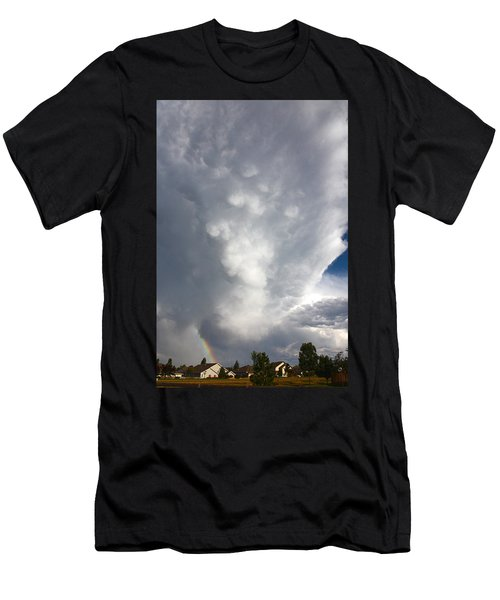 Amazing Storm Clouds Men's T-Shirt (Athletic Fit)