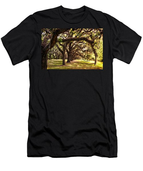 Amber Archway Men's T-Shirt (Athletic Fit)