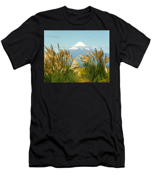 Amber Waves Of Osorno Men's T-Shirt (Athletic Fit)