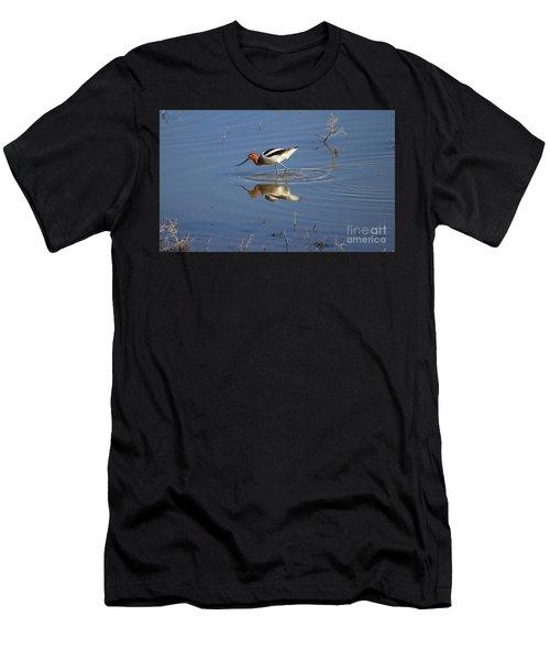 American Avocet Men's T-Shirt (Athletic Fit)