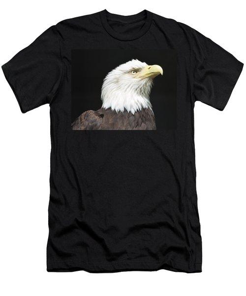 American Bald Eagle Profile Men's T-Shirt (Athletic Fit)
