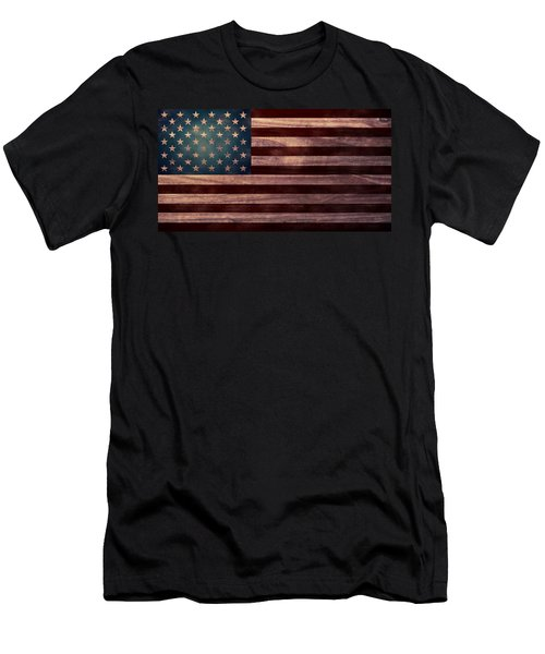 American Flag I Men's T-Shirt (Athletic Fit)