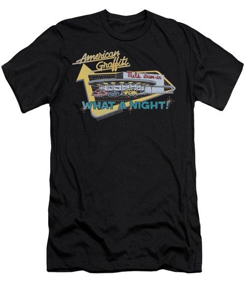 American Grafitti - Mel's Drive In Men's T-Shirt (Athletic Fit)