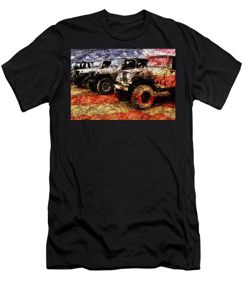 American Jeeps Men's T-Shirt (Athletic Fit)