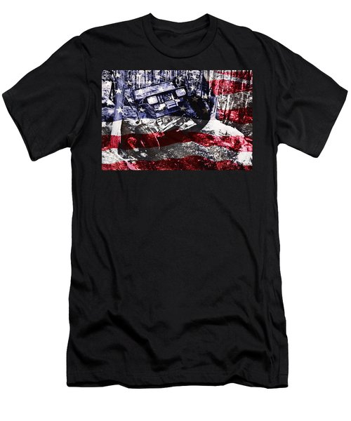 American Wrangler Men's T-Shirt (Athletic Fit)