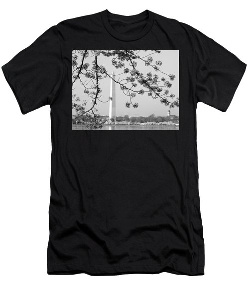 Amongst The Cherry Blossoms Men's T-Shirt (Athletic Fit)