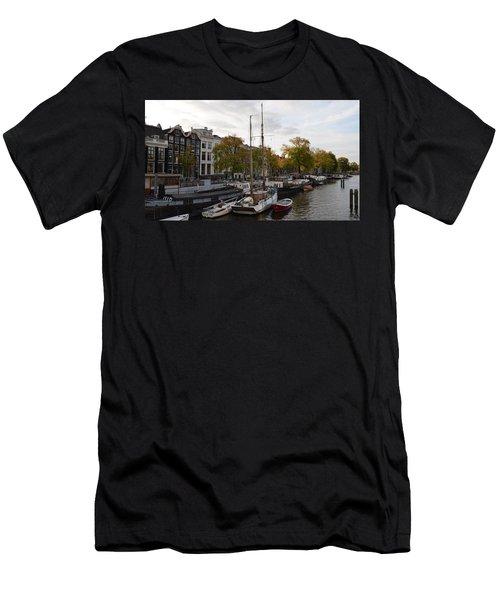 Amstel River Men's T-Shirt (Athletic Fit)
