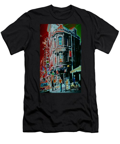 Amsterdam Abstract Men's T-Shirt (Athletic Fit)