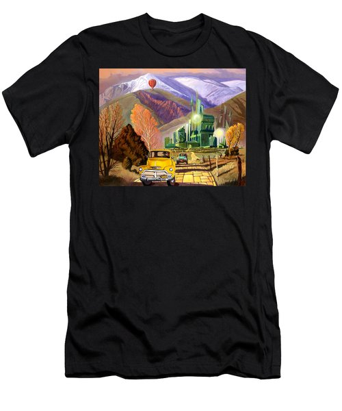 Trucks In Oz Men's T-Shirt (Athletic Fit)