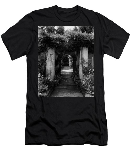 An Archway In The Garden Of Mrs. Carl Tucker Men's T-Shirt (Athletic Fit)