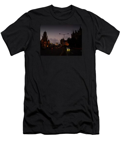 Men's T-Shirt (Slim Fit) featuring the photograph Mumbai by Salman Ravish