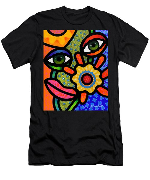 An Eye On Spring Men's T-Shirt (Athletic Fit)