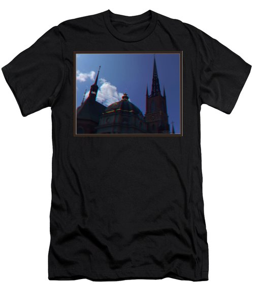 Anaglyph Church Men's T-Shirt (Athletic Fit)