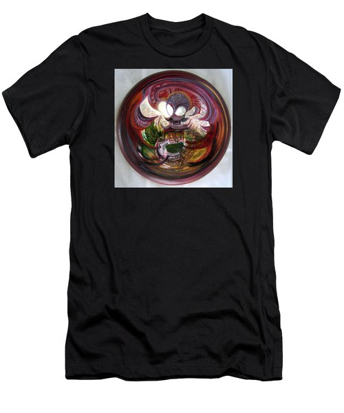 Anamorphic Chinese Pagoda Men's T-Shirt (Athletic Fit)
