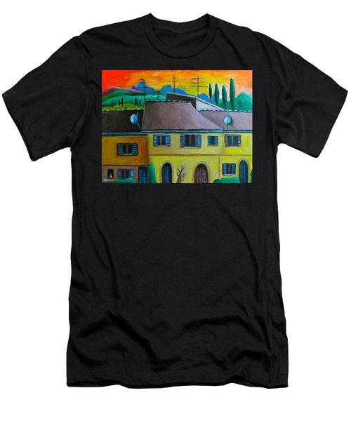 Ancient Volterra Wired Men's T-Shirt (Slim Fit) by Victoria Lakes