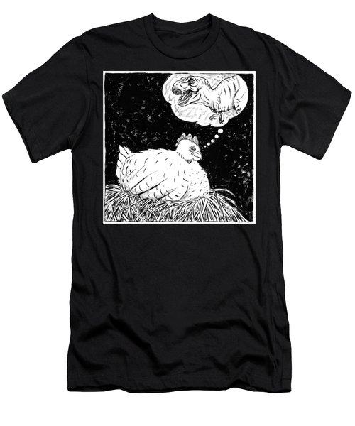 Ancestor Dreams Study Men's T-Shirt (Slim Fit) by Holly Wood