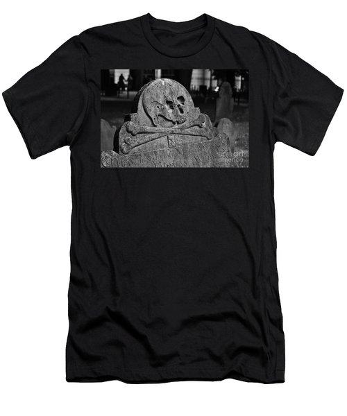 Ancient Gravestone Men's T-Shirt (Athletic Fit)