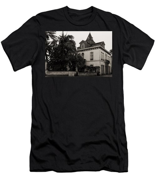 Ancient Hotel And Lush Trees  Men's T-Shirt (Athletic Fit)