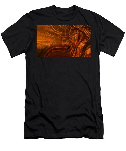 Men's T-Shirt (Slim Fit) featuring the digital art Ancient by Richard Thomas