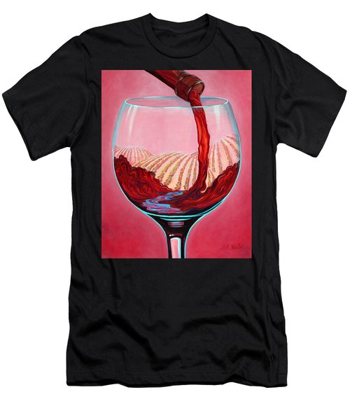...and Let There Be Wine Men's T-Shirt (Athletic Fit)