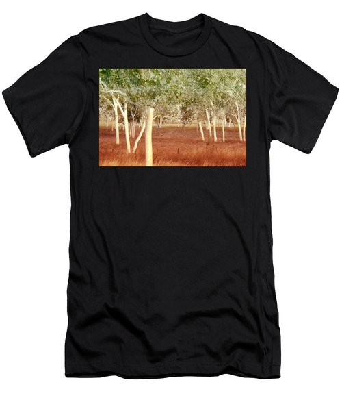 And The Trees Danced Men's T-Shirt (Athletic Fit)