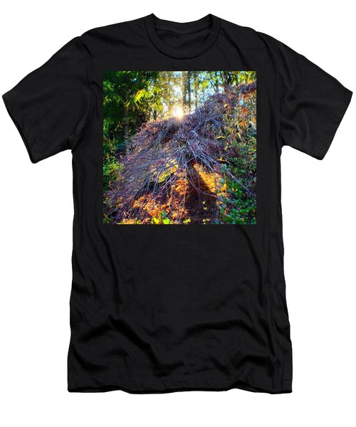 And Then The Sun Came Out Men's T-Shirt (Athletic Fit)