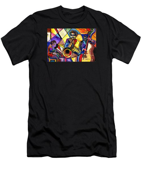 And Then There Was Da Blues Men's T-Shirt (Slim Fit) by Everett Spruill