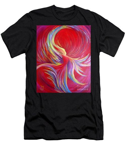 Angel Dance Men's T-Shirt (Athletic Fit)