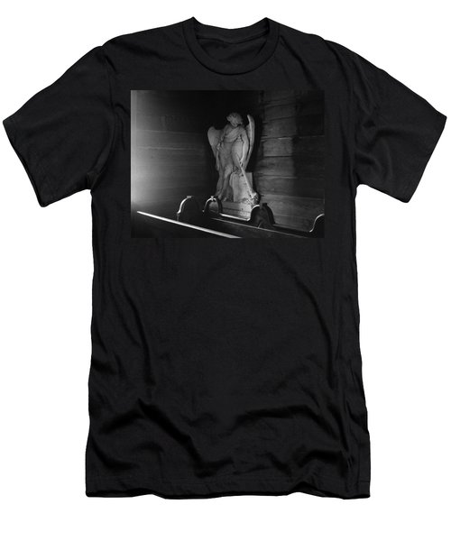 Angel In My Corner Men's T-Shirt (Athletic Fit)