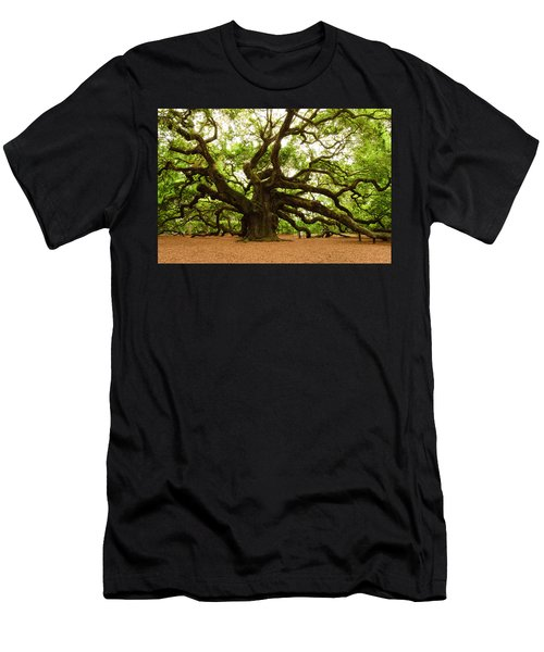 Angel Oak Tree 2009 Men's T-Shirt (Athletic Fit)