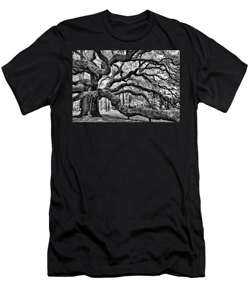 Angel Oak Tree Ir Hdr Men's T-Shirt (Athletic Fit)