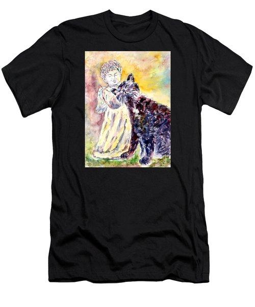 Angel Or Demon Men's T-Shirt (Athletic Fit)