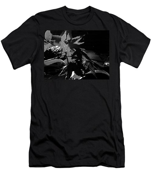 Angels Or Dragons B/w Men's T-Shirt (Slim Fit) by Martin Howard