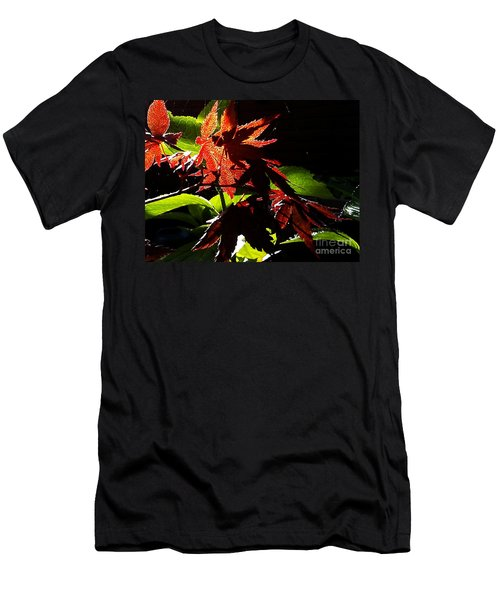Angels Or Dragons Men's T-Shirt (Slim Fit) by Martin Howard