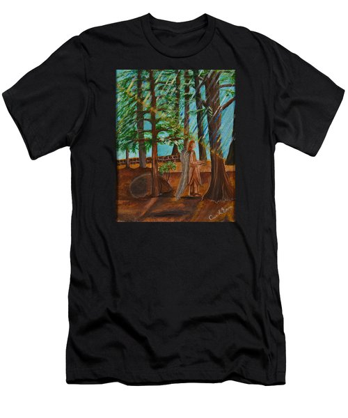 Angle In Idyllwild Men's T-Shirt (Athletic Fit)