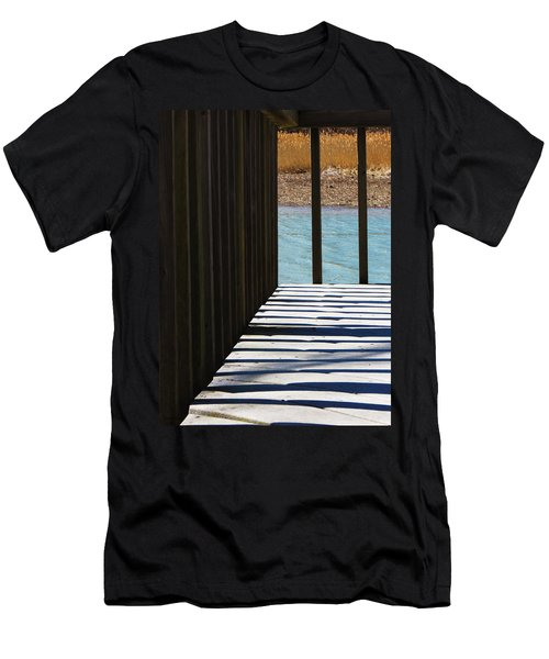 Men's T-Shirt (Slim Fit) featuring the photograph Angles And Shadows by Shawna Rowe