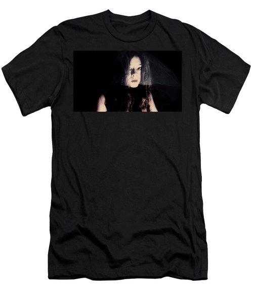 Men's T-Shirt (Slim Fit) featuring the photograph Angry With You  by Jessica Shelton