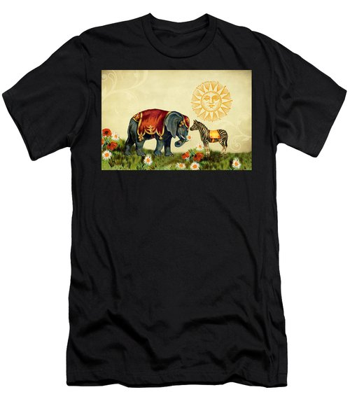 Animal Love Men's T-Shirt (Athletic Fit)