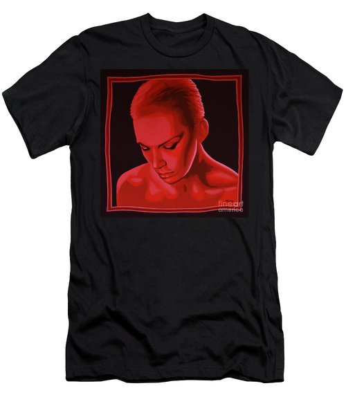 Annie Lennox Men's T-Shirt (Athletic Fit)