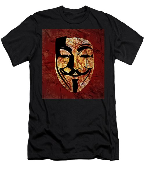 Anonymous Men's T-Shirt (Athletic Fit)