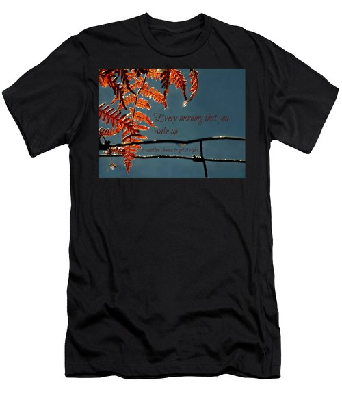 Another Chance Men's T-Shirt (Athletic Fit)