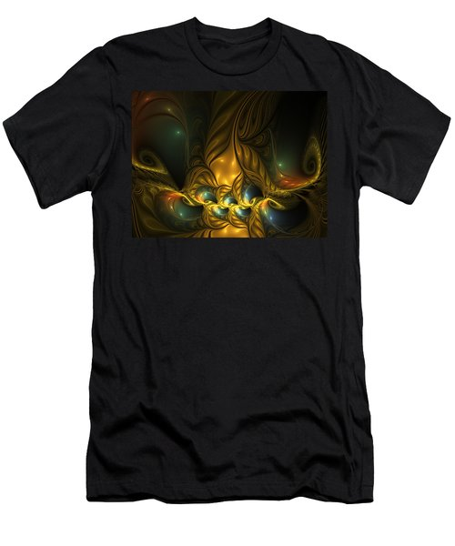 Another Mystical Place Men's T-Shirt (Slim Fit) by Gabiw Art