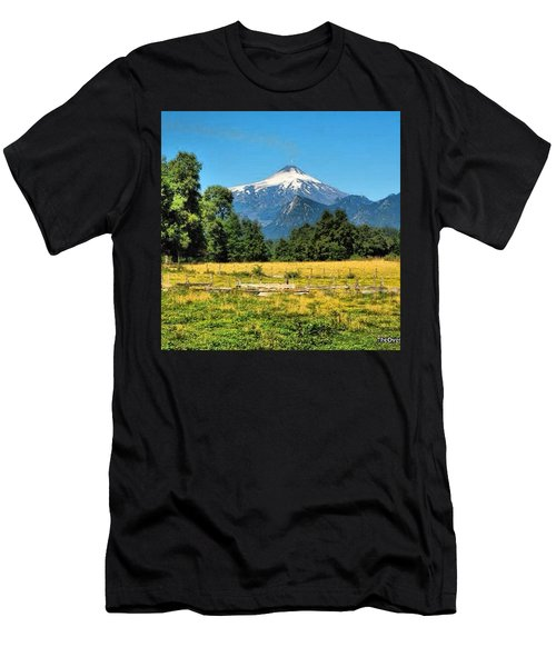 Another Sunny Day In Villarrica..with Men's T-Shirt (Athletic Fit)