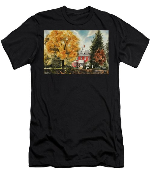 Antebellum Autumn Ironton Missouri Men's T-Shirt (Athletic Fit)